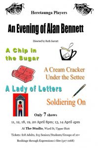 An evening with Alan Bennett
